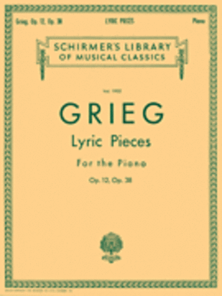 Lyric Pieces - Volume 1: Op. 12, 38