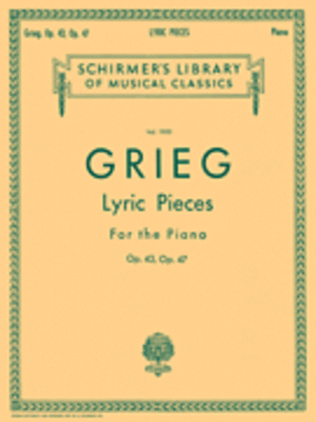 Lyric Pieces - Volume 2: Op. 43, 47
