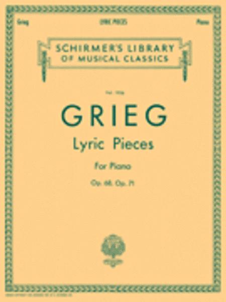 Lyric Pieces - Volume 5: Op. 68, 71