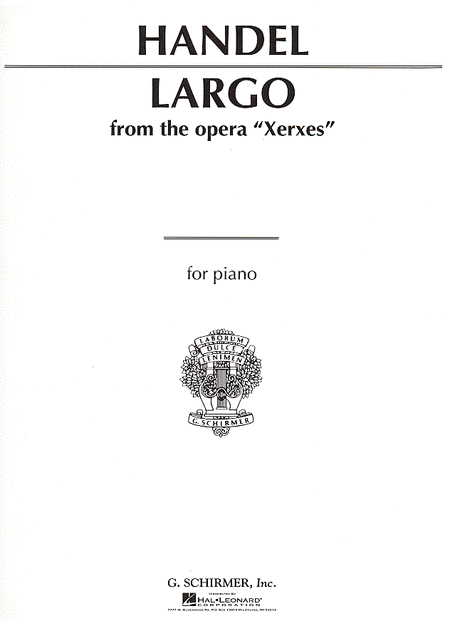 Largo - from 'Xerxes'