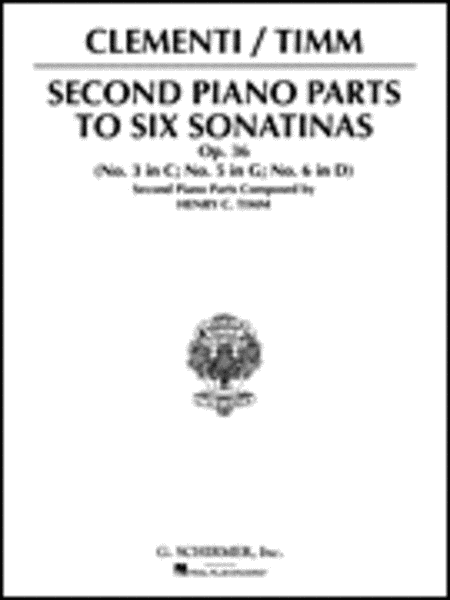 Sonatinas, Op. 36 - Book 2 (2nd Piano Part)