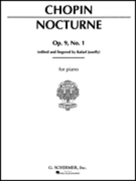 Nocturne, Op. 9, No. 1 in B-flat minor