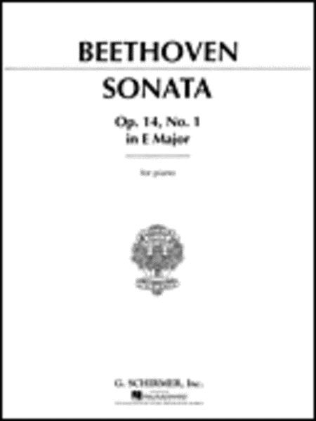 Sonata in E Major, Op. 14, No. 1