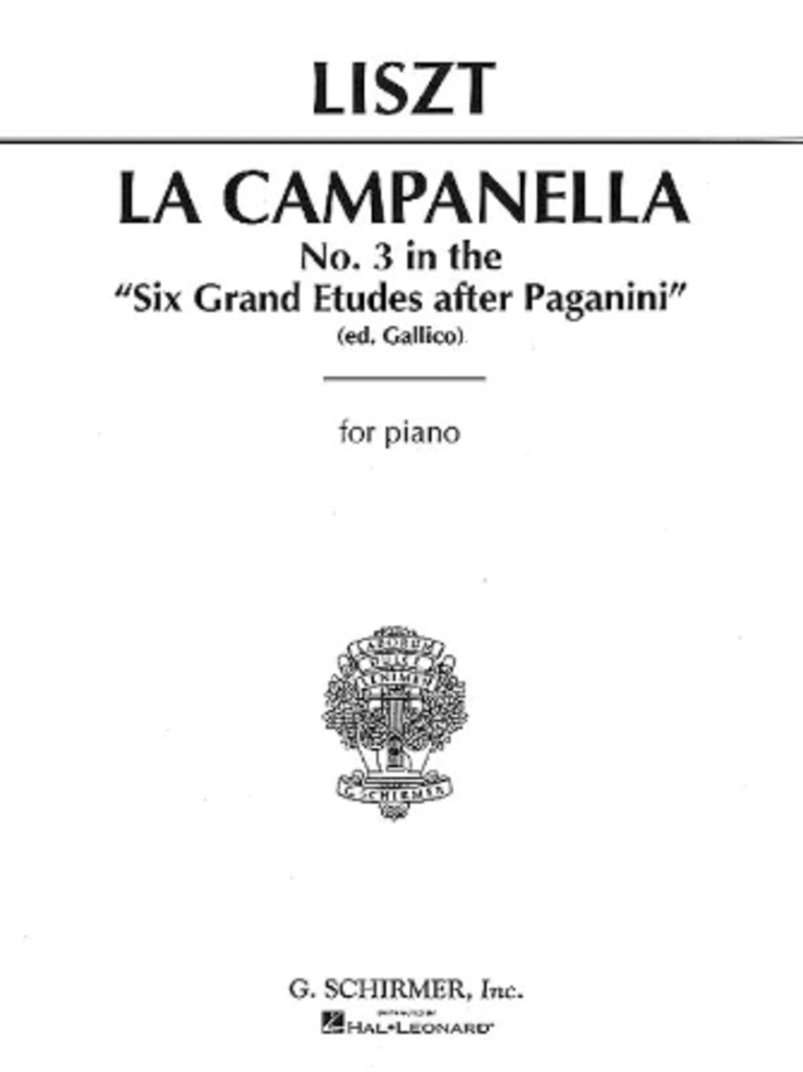 La Campanella - No. 3 In 6 Grand Etudes After Paganini