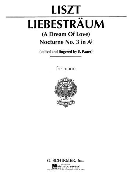 Liebestraume - Nocturne No. 3