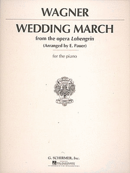 Wedding March (Wagner) - Piano Solo