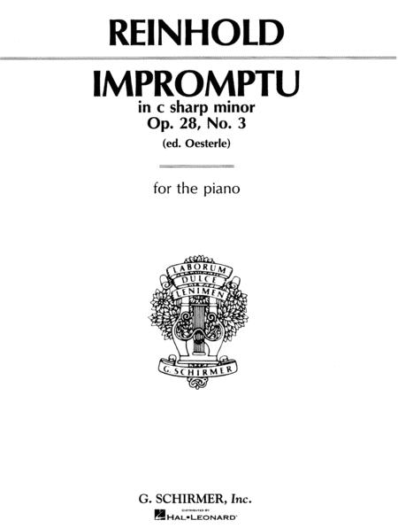 Impromptu, Op. 28, No. 3 in C#