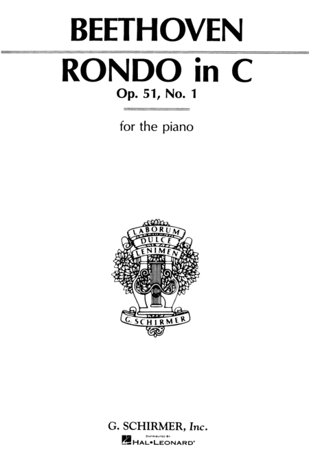 Rondo in C Major, Op. 51, No. 1