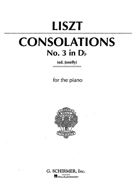 Consolation No. 3 in Db Major