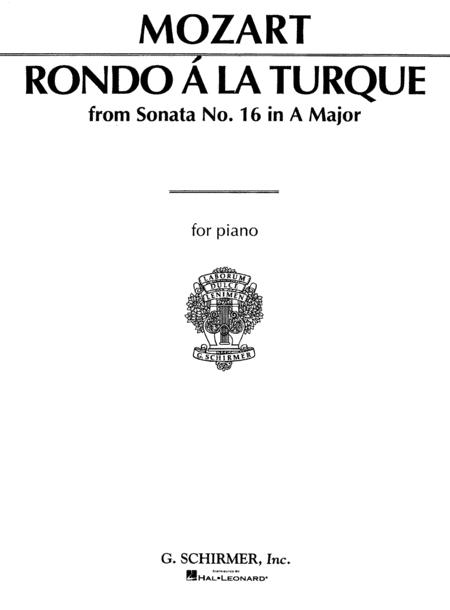Rondo à la Turque (from Sonata in A Major K331)