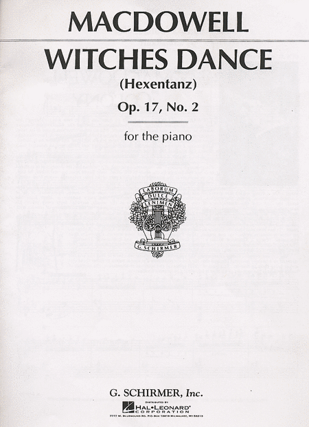 Witches' Dance, Op. 17, No. 2