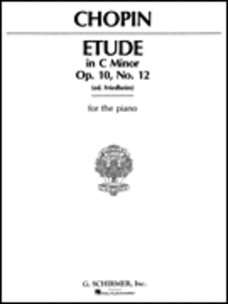 Etude Op. 10 #12