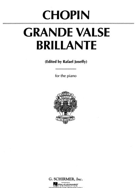 Grand Valse Brillante, Op. 18 in Eb Major