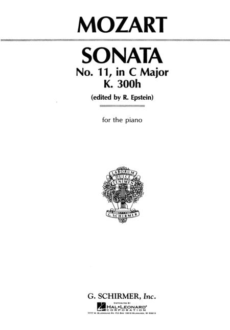 Sonata No. 11 in C Major K330