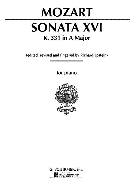 Sonata No. 16 in A Major K331