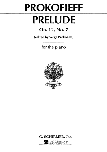 Prelude in C, Op. 12, No. 7