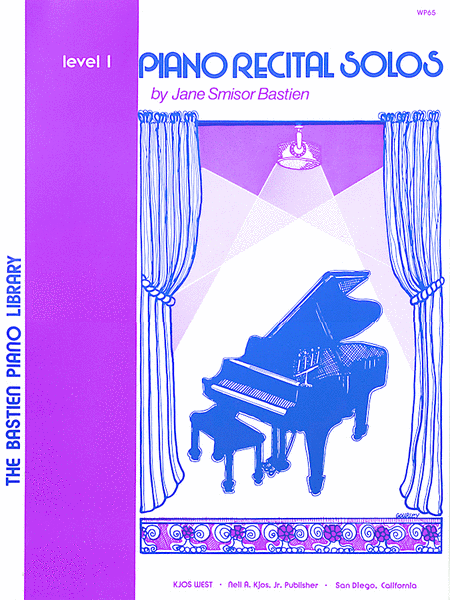 Piano Recital Solos, Level 1