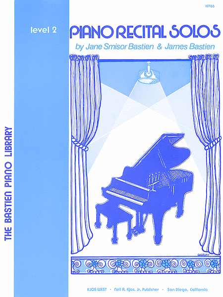 Piano Recital Solos, Level 2
