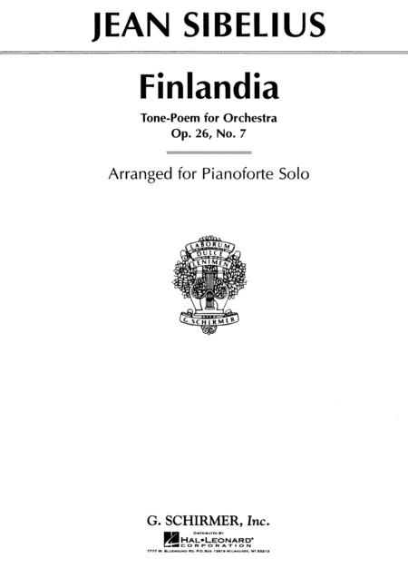 Finlandia, Op. 26, No. 7