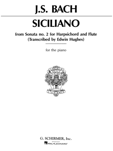 Siciliano Sonata No. 2