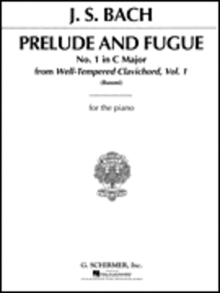 Prelude And Fugue In C Major (No. 1)