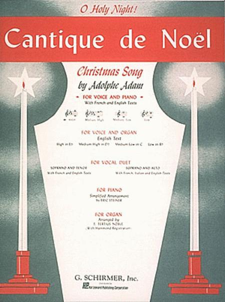 Cantique de Noel (O Holy Night) - High