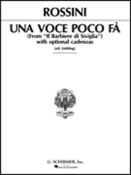 Una voce poco fa (from Il barbiere di Siviglia)