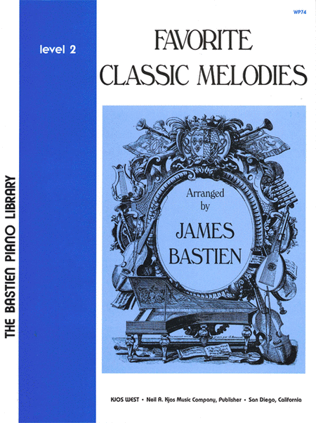 Favorite Classic Melodies, Level 2
