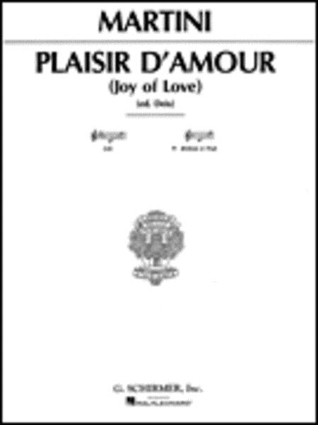 Piacer d'amor (The Joys of Love)