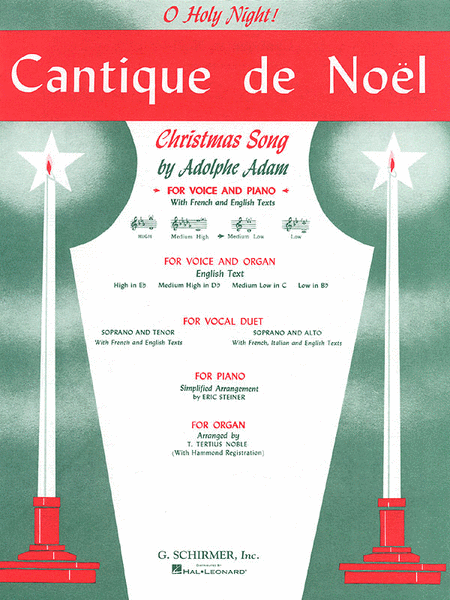 Cantique de Noel (O Holy Night) - Medium Low