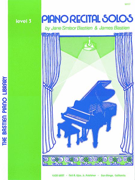 Piano Recital Solos, Level 3