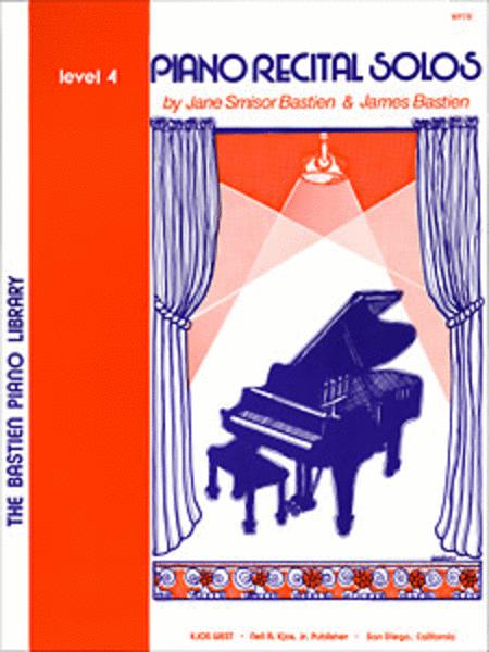 Piano Recital Solos, Level 4