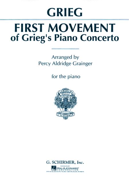 Piano Concerto - 1st Movement