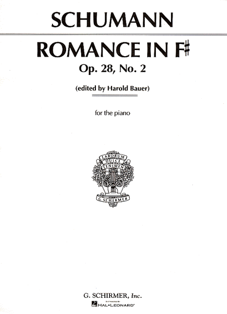 Romance, Op. 28, No. 2 In F Major