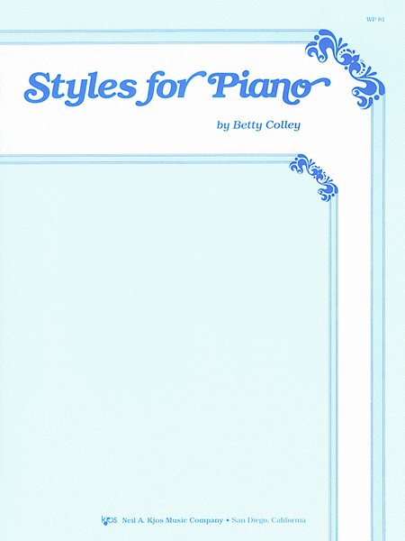 Styles For Piano