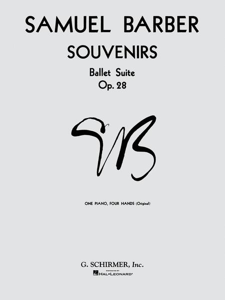 Souvenirs Ballet Suite, Op. 28 (Original)