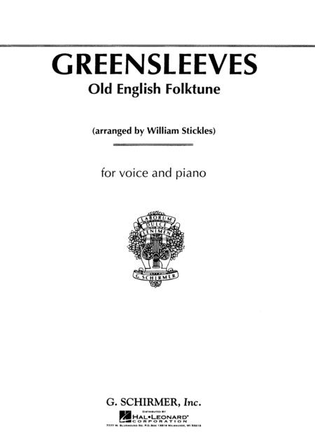 Greensleeves (Old English Folksong)
