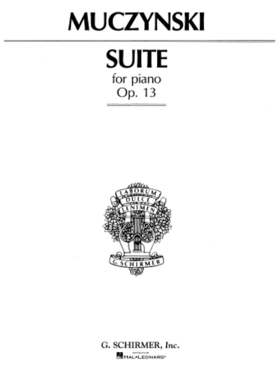Suite, Op. 13