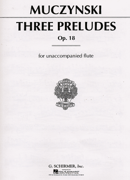 3 Preludes, Opus 18