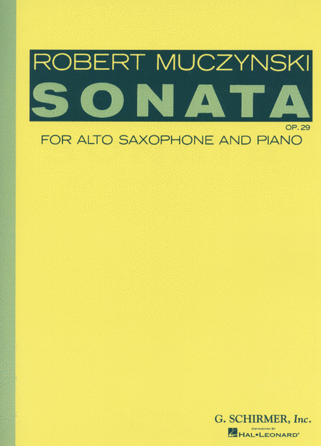 Sonata, Op. 29