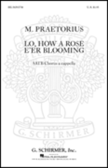 Lo How A Rose E'er Blooming A Cappella