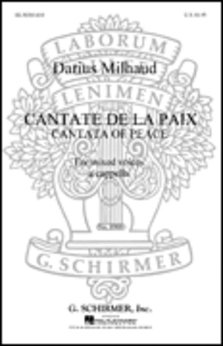 Cantate De La Paix Cantata Of Peace French/English