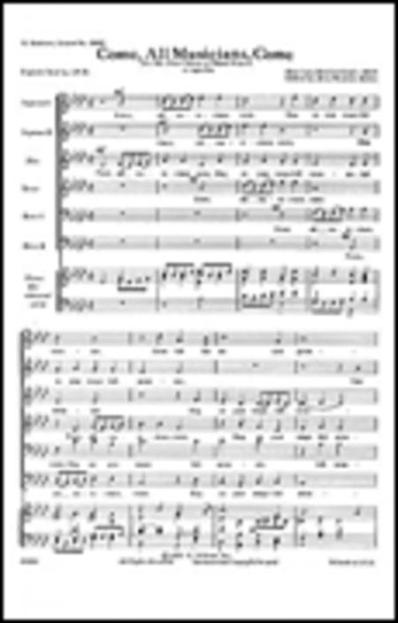 Come All Musicians Come  A Cappella