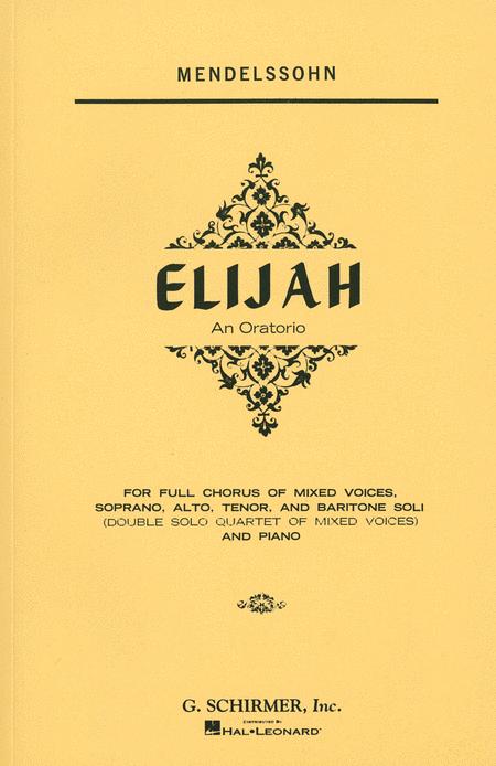 Elijah - Vocal Score, Complete