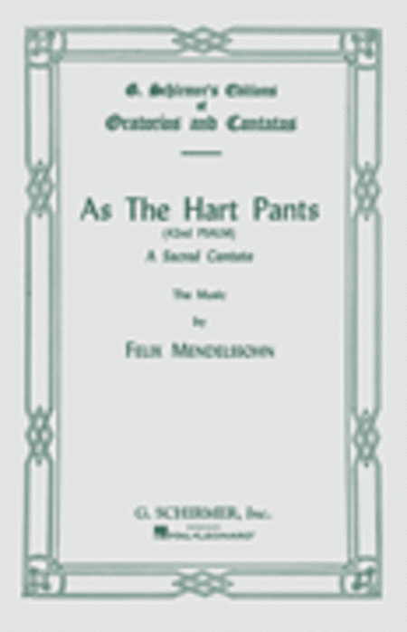 As the Hart Pants (Psalm 42)