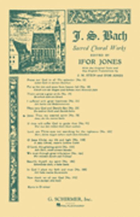 Cantata No. 78: Jesu, der du meine Seele