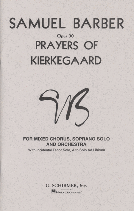 Prayers of Kierkegaard