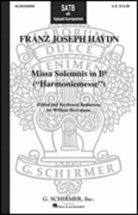 Missa Solemnis in B-Flat (Harmoniemesse)