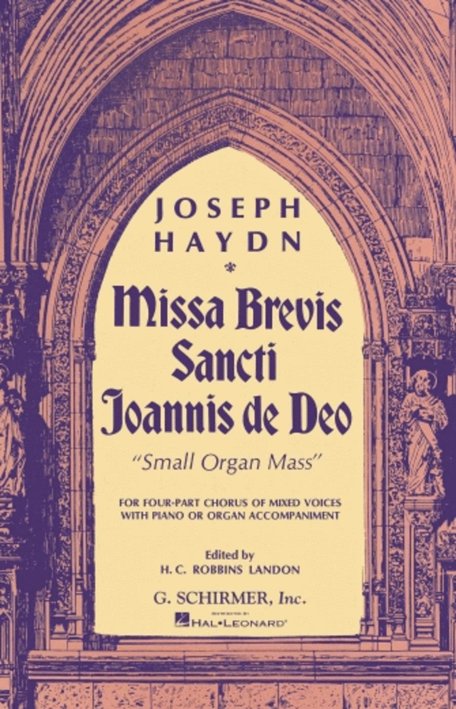 Missa Brevis Sancti Joannis de Deo
