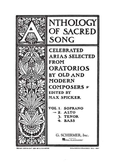 Anthology of Sacred Song - Volume 2